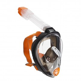 ARIA FULL FACE SNORKELING MASK-ORANGE