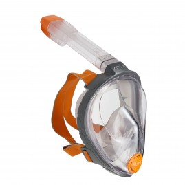 ARIA FULL FACE SNORKELLING MASK-Grey