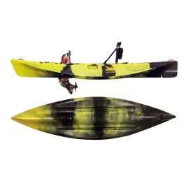 Kings Kraft Fishing kayak for one person with pedals and propeller