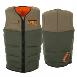 2017 Follow Stow Cook CE Impact Vest Olive