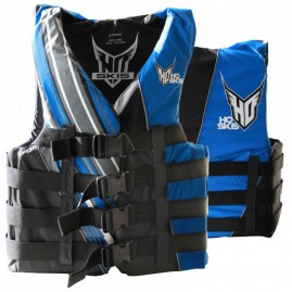 2017 HO Sports Mens 4-Buckle Vest Black/Blue