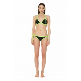 GLIDESOUL BIKINI BOTTOM WITH LACES Black-Lemon