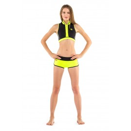 GLIDESOUL SIGNATURE COLLECTION 0.5 MM CROP TOP Blk-lemon