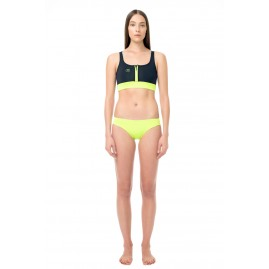 GLIDESOUL YOGA 0.5 MM CROP TOP Black-Lemon