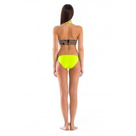 GLIDESOUL MULTI STRAP BIKINI BOTTOM Lemon, Black Label