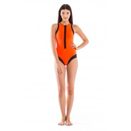 GLIDESOUL VIBRANT STRIPES COLLECTION SURF STYLE Peach/Black