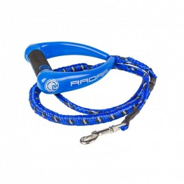 2019 Radar 5ft Bungee Dog Leash Blue