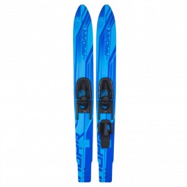 Radar X-Caliber 67'' Combo w/Adj. Horseshoe Bindings - Blue