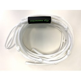 Masterline 14.5m Poly-E Trick Main Water Ski Rope-White