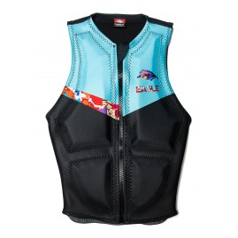 Masterline Eagle Womens Apex Vest-Acidrain/blue