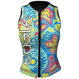 Masterline Eagle Sensation Womens Vest-Teal