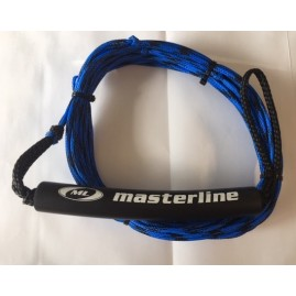 Masterline 14.5m Spectra Fusion Trick Main Water Ski Rope-Blue/Black