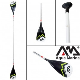 Aqua Marina DUAL-Tech 2-in-1 Aluminum iSUP & Kayak Paddle (3-4 sections)