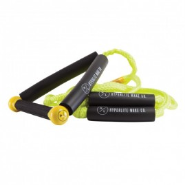 Hyperlite 25' Ft Surf Rope w/Handle Package - Yellow