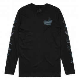 Hyperlite Union (Black) Long Sleeve T-Shirt