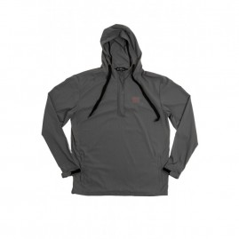 Follow Layer 3.1 Outer Spray Pullover - Grey