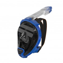 ARIA QR FULL FACE SNORKELING MASK-Blue