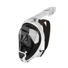 ARIA QR FULL FACE SNORKELING MASK-White