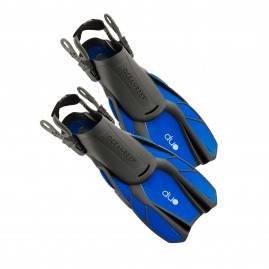 Ocean Reef Duo Travel Ready Fins Blue
