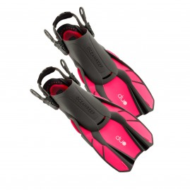 Ocean Reef Duo Travel Ready Fins Pink