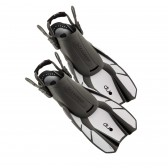 Ocean Reef Duo Travel Ready Fins White