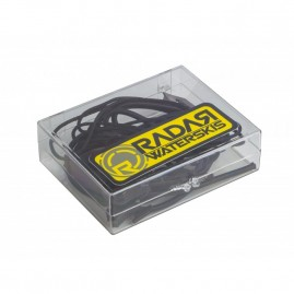 Radar Radar Lace Lock Kit - Black (1 pair lace - 1 pair bungee and locks)