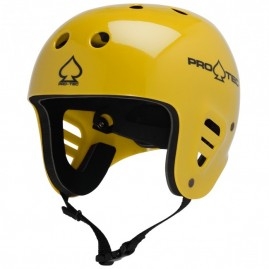 Pro Tec Classic Full Cut Water Gloss Yellow Small/Medium (54-58cm)