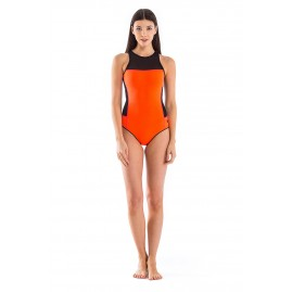 GLIDESOUL SIGNATURE COLLECTION HIGH NECK ONE PIECE SWIMSUI