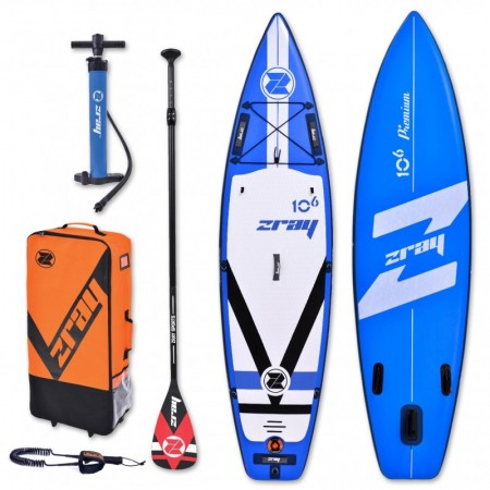ZRAY Fury Pro 10'6'' Inflatable SUP board complete package