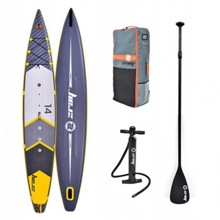 ZRAY Rapid DUAL 14' Inflatable SUP board with paddle