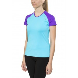 Camaro Women's Ultra Dry Shirt SS Rash Guard , Turquoise