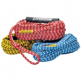 2019 Pro Line 60' 3/8'' Tube Rope w/Floats Yellow