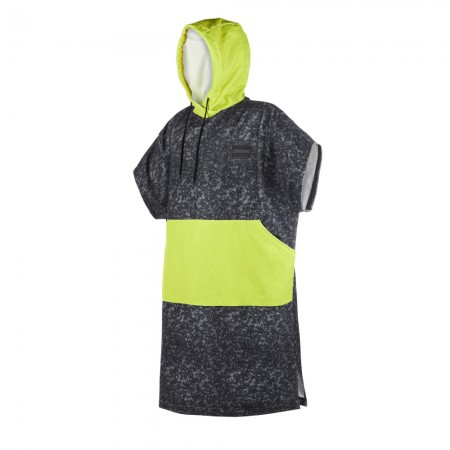 Mystic Poncho Allover One Size / Black-Lime
