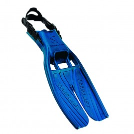 Scubapro Twin Jet Open Heel Split Fins Blue