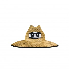 Paddler's Sun Hat - Tan Straw / Wave Nylon - OSFM