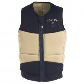 Follow Coastline Impact Vest - Navy