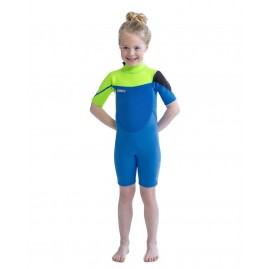 Jobe Boston Shorty 2mm Wetsuit Kids Lime Blue