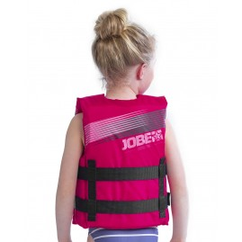 Jobe Nylon Life Vest Youth Hot Pink