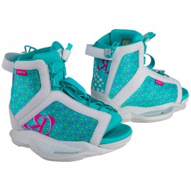 Ronix August White / Pink / Blue Orchid GIrl's Boot