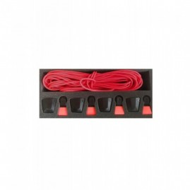 Ronix AutoLock Kit - Red (set of 4 Laces and AutoLocks)