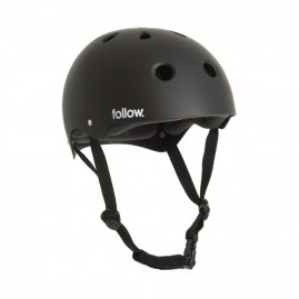 Follow Safety First Helmet - Black
