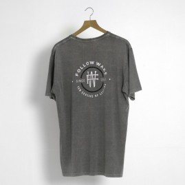 Follow Leader Mens Tee - Grey