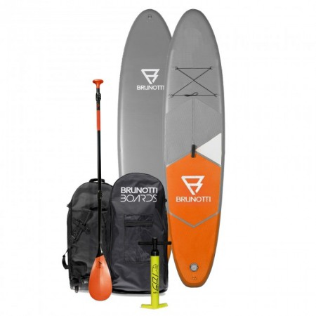 Brunotti Fat Ferry iSUP Orange Board Package w/Paddle / - 10'6