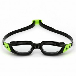 Aqua Sphere Kameleon Swimming Goggles - Black/Lime Buckles