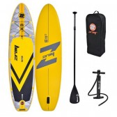 ZRAY Evasion Epic 11' Inflatable SUP board package- Yellow
