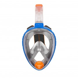ARIA FULL FACE SNORKELING MASK-Blue