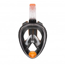 ARIA FULL FACE SNORKELING MASK Clasic-Black