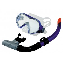 Gobby Set Snorkelling Mask Blue
