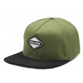 Follow Corp Mens Hat - Black