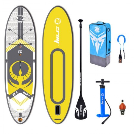 ZRAY D1 10' Inflatable SUP board package